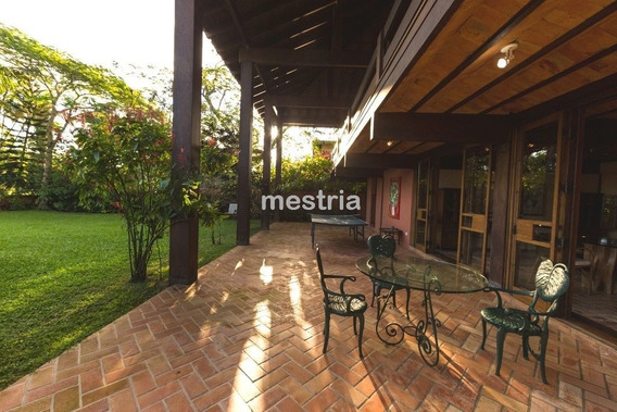Casa Belíssima Na Praia De Pernambuco Com 576 M² E Garagem Para 6 Carros !! - Di34872
