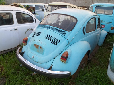 Volkswagen Fusca Sem Motor