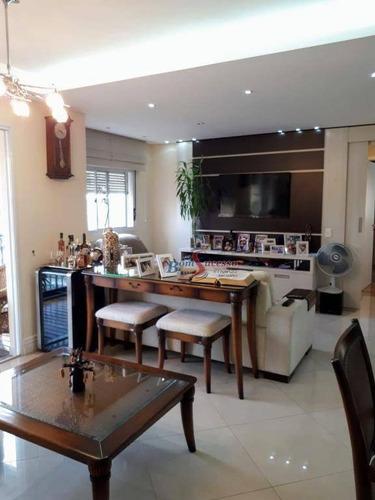 Apartamento Com 2 Dormitórios À Venda, 87 M² Por R$ 790.000,00 - Belém - São Paulo/sp - Ap2218