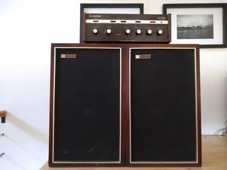 Amplificador Audinac At500 + Parlantes Audinac 716 30w