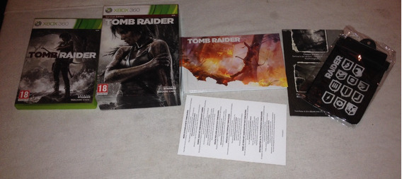 Jogo Tomb Raider Survival Edition Xbox 360