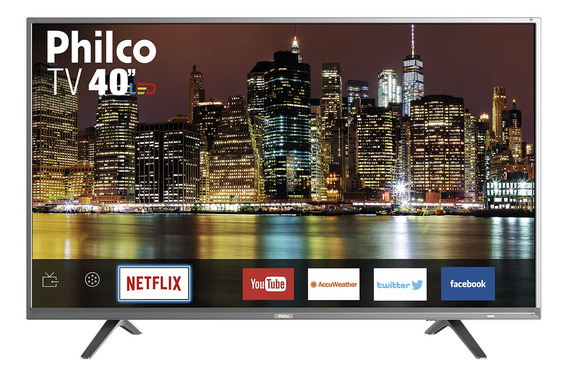 Smart Tv Philco Led 40 Ptv40e21sns - Netflix Bivolt