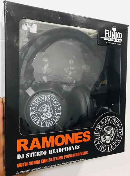 Headphone Ramones - Funko - Fones De Ouvido