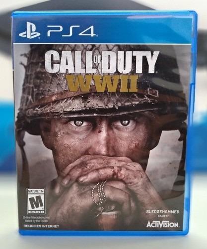Ps4 Call Of Duty Ww Ii Seminovo