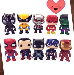 Muñecos Pop Style Thor, Hulk, Ironman, Deadpool, Etc