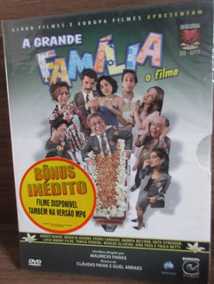 Dvd Duplo - A Grande Família O Filme - Digipack Original