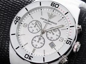 Relógio Emporio Armani Ar1424 Cerâmica Frete Grátis
