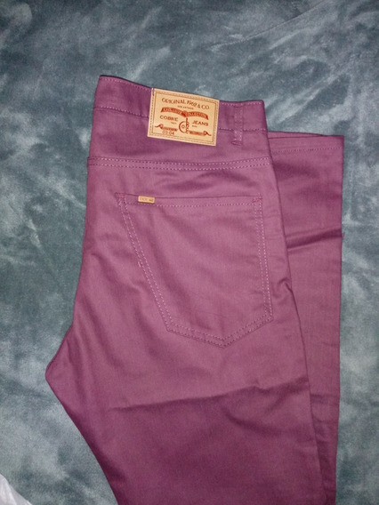 Pantalon Hombre Cobre Jeans Talle 46