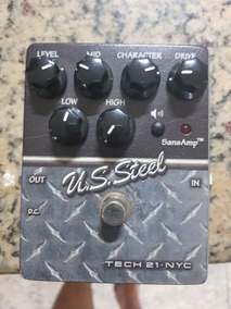 Pedal Tech 21 Us Steel Distortion Mesa Boogie - Conservadao!