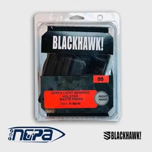 Imagen 1 de 2 de Glock 17/22/31  Funda Mano Derecha Porta Arma   Blackhawk