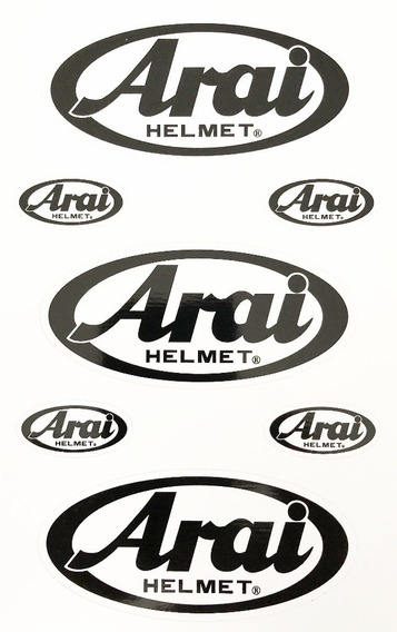 Adesivos Arai Original Kit Para Pintura Do Casco E Viseira