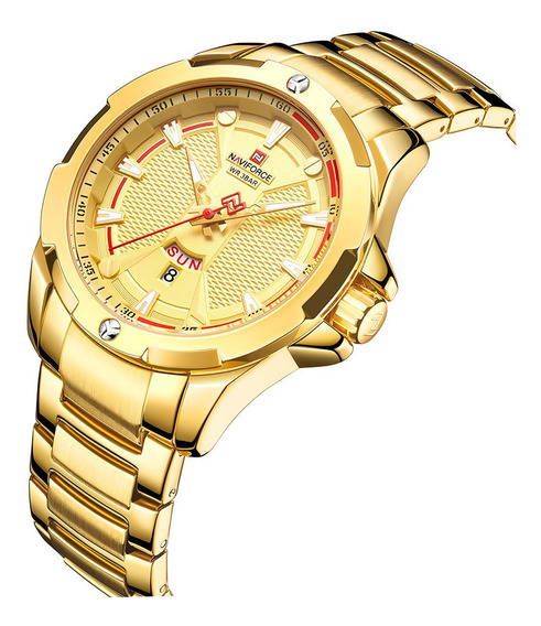 Relógio Masculino Esportivo Naviforce Top Lançamento C/caixa