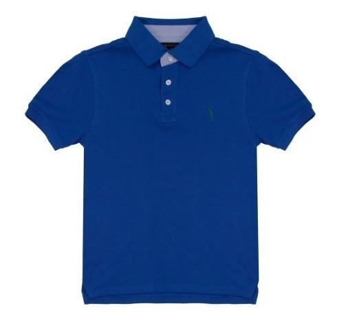 5 Camisas Camiseta Polo Infantil Blusas Kids Criança Menino