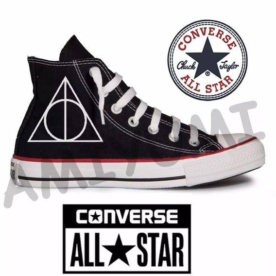 Tênis Harry Potter All Star Converse Personalizado
