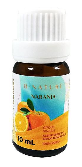 Aceite Esencial Naranja Dulce Bnature 100% Puro Y Natural