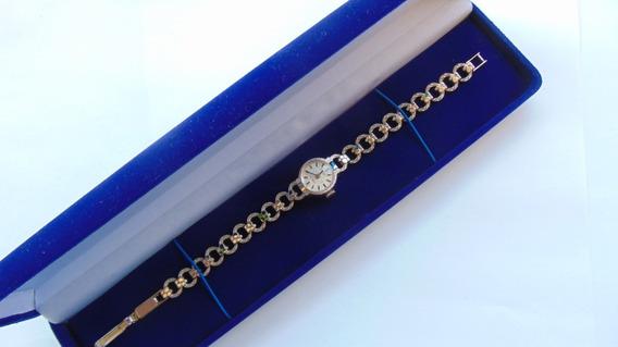 Relogio Antigo Joia Hanowa Swiss Anos40 Feminino Bracelete