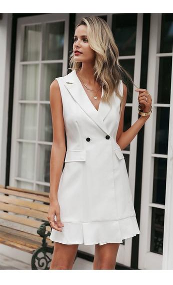 Vestido White Navy+regalo