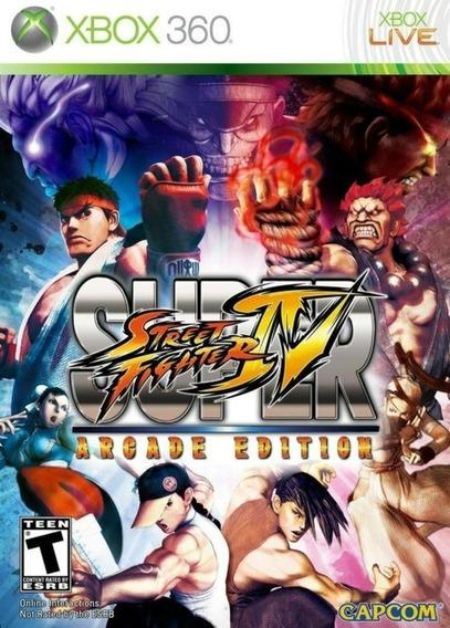 Super Street Fighter Iv - Xbox 360 - Mídia Digital