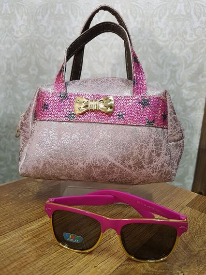Bolsa Feminina + Óculos De Sol