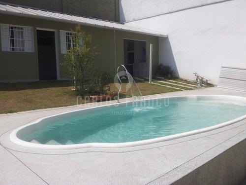 Casa Terreá,  Chácara Monte Alegre, 4 Dormitórios,  10 Vagas De Garagem - Cf10205