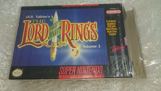 The Lord Of The Rings Cib Snes