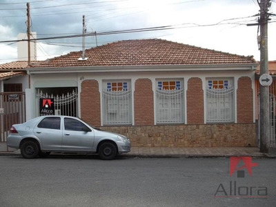 Casa Residencial À Venda, Vila Aparecida, Bragança Paulista - Ca0848. - Ca0848