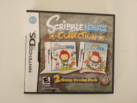 Scribblenauts Collection Nintendo Ds Nds 3ds 2ds Completo