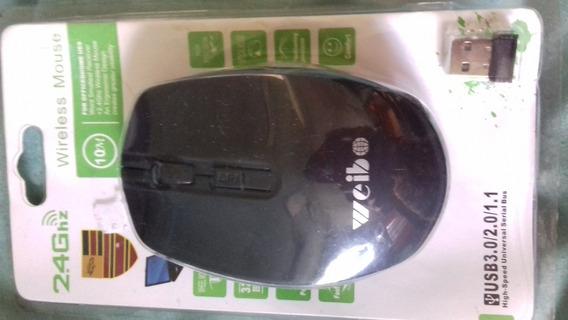 Mouse Wireless Novo Sem Fio.