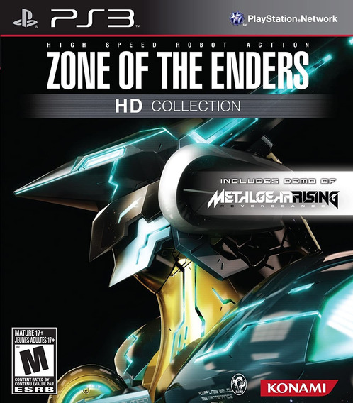 Zone Of The Enders Hd Collection Ps3 Midia Fisica
