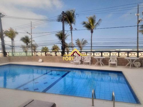 Apartamento Com 2 Dormitórios À Venda, 80 M² Por R$ 320.000 - Aviação - Praia Grande/sp - Ap1301