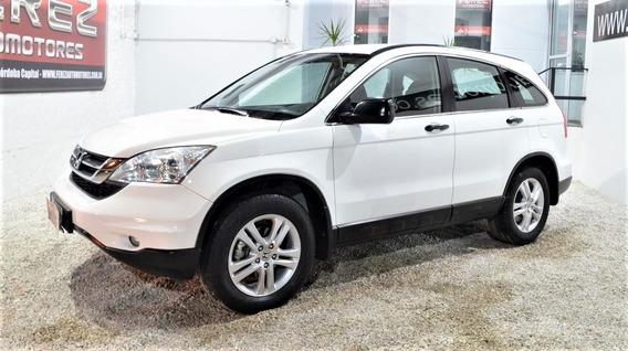 Honda Crv Lx 2010 Blanco Nafta En Muy Buen Estado!!