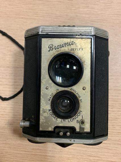 Brownie Reflex Kodak Camera Maquina Fotografica Antiga