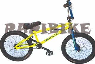 Bicicleta Venzo Cube Rodado 20 Freestyle Bmx Niños Driver