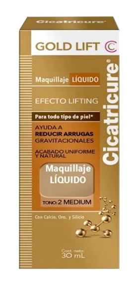Cicatricure Gold Lift Base Maquillaje Líquido Medium X 30 Ml