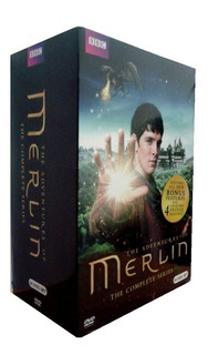 The Adventures Of Merlin Complete Collection Boxset Dvd