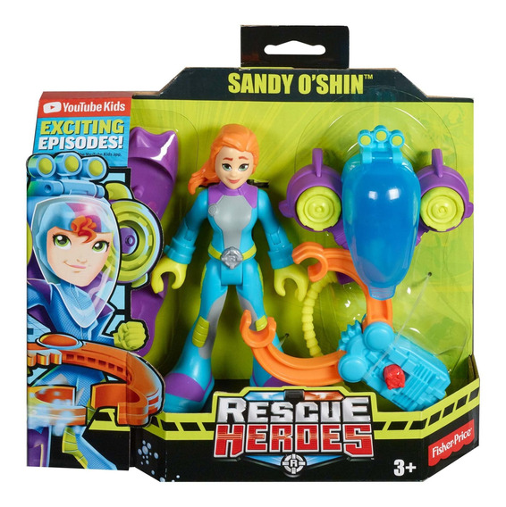 Fisher-price Rescue Heroes Sandy O
