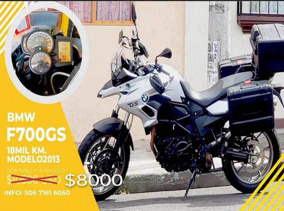 Motocicleta Bmw F700gs 18000km 10/10