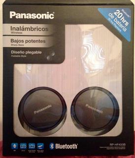 Auricular Para Smartphone Hf400b Negro Panasonic