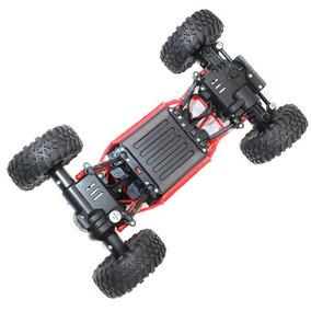 Carro Rc Rock Crawler Escala 1/18 2.4ghz Vermelho