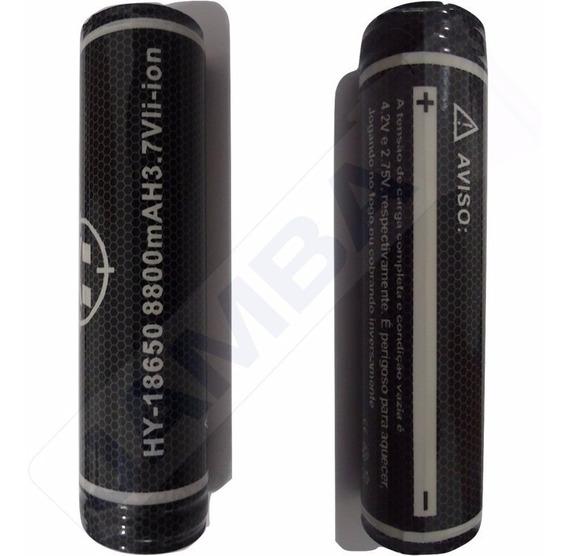 Kit 2 Bateria Recarreável 18650 8800mah Lacrado Original