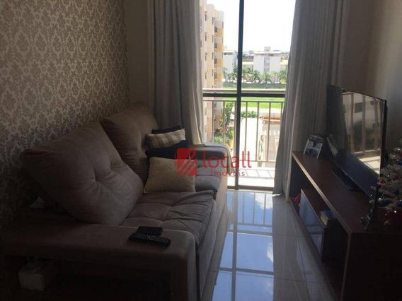 Apartamento Residencial À Venda, Jardim Vivendas, São José Do Rio Preto. - Ap1144