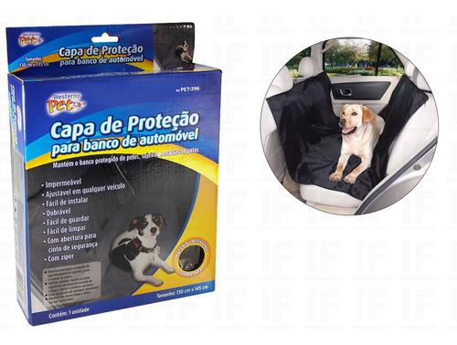 Capa Pet Impermeavel Protetor Para Bancos De Carros