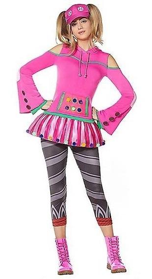 Disfraz Mujer Zoey Traje Fortnite Original Adulto