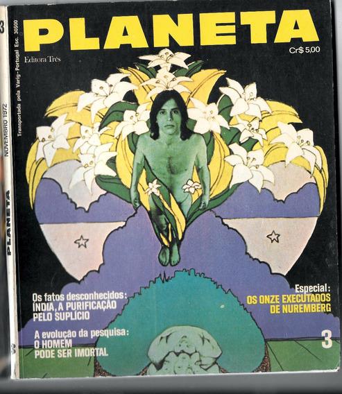 Luc026 Revista Planeta Nº 3 - Editora 3 - Novembro 1972