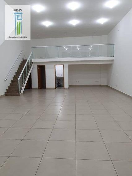 Salão Para Alugar, 140 M² Por R$ 4.900/mês - Imirim - São Paulo/sp - Sl0020