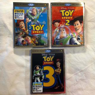 Blu Ray En 3d. Toy Story 1 - 2 - 3 Oferta