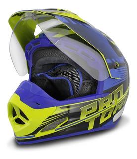 Capacete Feminino Pro Tork Cross Th1 Vision Adventure