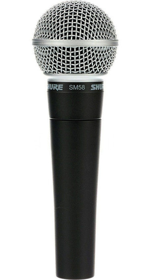 Microfone Shure Sm58 Lc Original Made In México