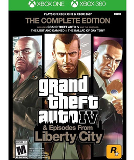 Grand Theft Auto Iv: The Complete Edition - Xbox 360 xbox On