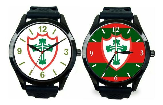 Kit 2 Relógio Pulso Portuguesa Desportos Sp Masculino Novo